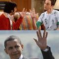 """谢耳朵""""史波克""""手势含义"""
